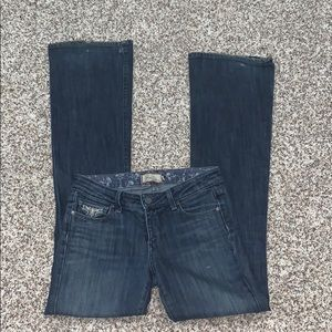 Paige Women Size 26 Hollywood Hills Classic Rise